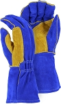 FR Leather Welders Glove with Reinforced Thumb Strap