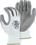 Cut-Less Watchdog Seamless Knit Glove with Polyurethane Palm Coating