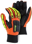 Knucklehead X10 Armor Skin™ Mechanics Glove with Impact Protection
