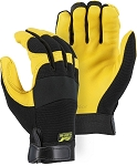Golden Eagle Deerskin Mechanics Gloves
