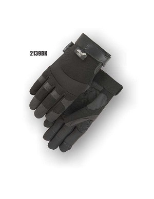 Armorskin Synthetic Leather Double Palm Mechanics Glove