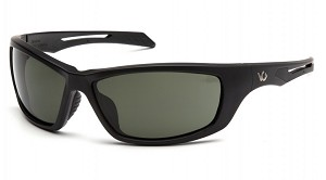 Howitzer Black Frame with Forest Gray Anti-Fog Lens