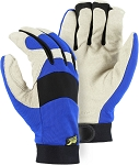 Bald Eagle Pigskin 40 gram Thinsulate Lined Waterproof Mechanics Gloves