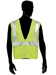 Class 2 - Green Safety vest (mesh with silver stripes)
