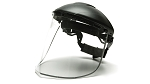 Aluminum Bound Poly-carbonate Face Shield Only-Clear-Headgear Sold Separately
