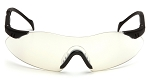 Intrepid Black Frame Indoor/Outdoor Lens Safety Glasses - Clearance