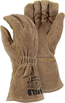 FR Leather Welders Glove with Elastic Wrist (Dozen)