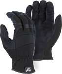 Armorskin Synthetic Leather Mechanics Glove Slip On