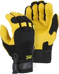 Golden Eagle Deerskin Heatlok Lined Mechanics Gloves