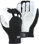 Winter Lined White Eagle Goatskin Mechanics Glove