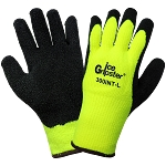 Ice Gripster - Water Repellent Low Temperature Etched Rubber Palm Gloves - Cut Level A2