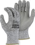 Cut-Less Annihilator Seamless Knit Glove with Polyurethane Palm Coating - Cut Level A3
