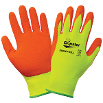 Gripster - High-Visibility Rubber-Dipped Glove