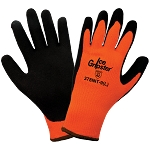 Ice Gripster - High-Visibility Water Repellent Low Temperature Foam Rubber Palm Gloves - Cut Level A2