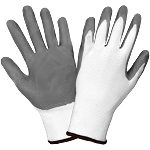 Economy Nitrile Dipped Polyester Gloves