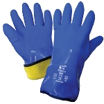 Premium Super Flexible Waterproof Triple-Dipped PVC Low Temp Gloves
