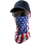 FrogWear - Premium Multi-Function Neck Gaiter, U.S.A. Flag Design