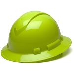 Ridgeline High Visibility Full Brim Hard Hat