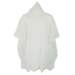 Clear Poncho with Hood