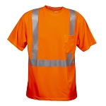COR-BRITE™ Short-Sleeve T-Shirt, Type R Class 2 - Orange Mesh