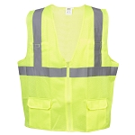 COR-BRITE™ Surveyors Class 2 Safety Vest, Type R - Lime Mesh