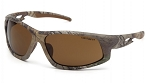 Ironside Sandstone Bronze Anti-Fog Lens with Realtree Xtra Camo Frame
