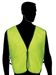 General Purpose High Viz Safety Vest - Lime Green