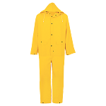 3-Piece PVC Rainsuit with Snaps