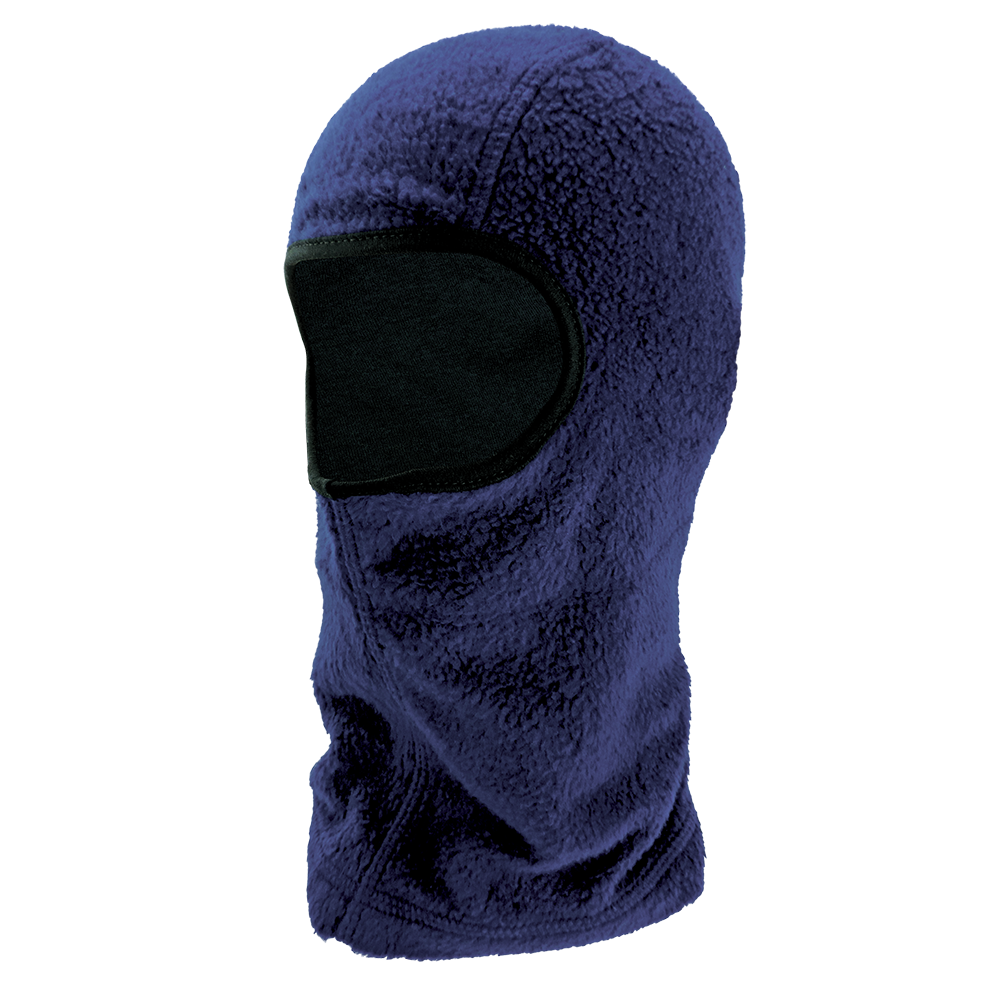 Bullhead Safety Navy Blue Shoulder-Length Flame-Resistant Thermal Balaclava