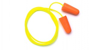 Disposable Corded Earplugs (100 Pair)