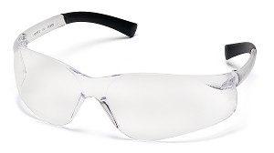 Ztek Clear Lens with Clear Temples
