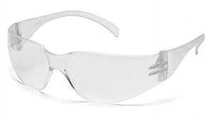 Intruder Clear Lens with Clear Temples