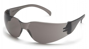 Intruder Gray Anti-Fog Lens with Gray Temples