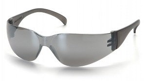 Intruder Silver Mirror Lens with Silver Mirror Temples