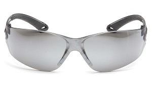 Itek Silver Mirror Lens with Gray Temples