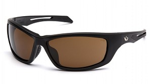 Howitzer Black Frame with Bronze Anti-Fog Lens