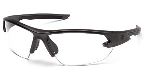 Clear Anti-Fog Lens with Gun Metal Frame